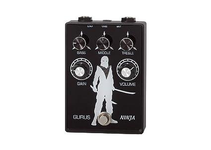Amazon.com: Gurus Ninja Tube Distortion Pedal: Musical ...