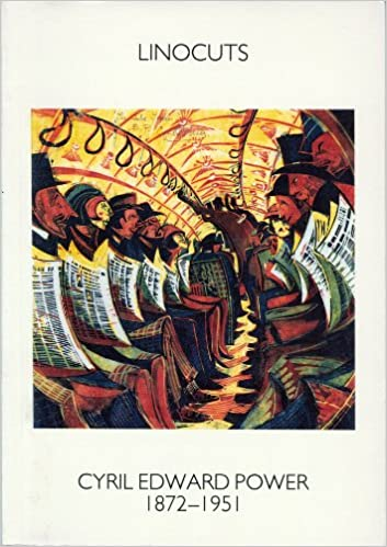 Book The Linocuts of Cyril Edward Power 1872-1951 by Gordon Samuel