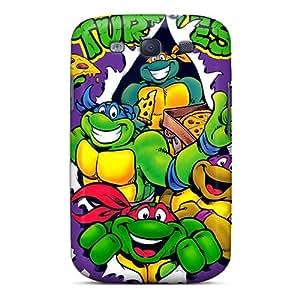 Samsung Galaxy S3 CYu8667psNA Unique Design High Resolution Ninja Turtles Series Protective Cell-phone Hard Covers -InesWeldon