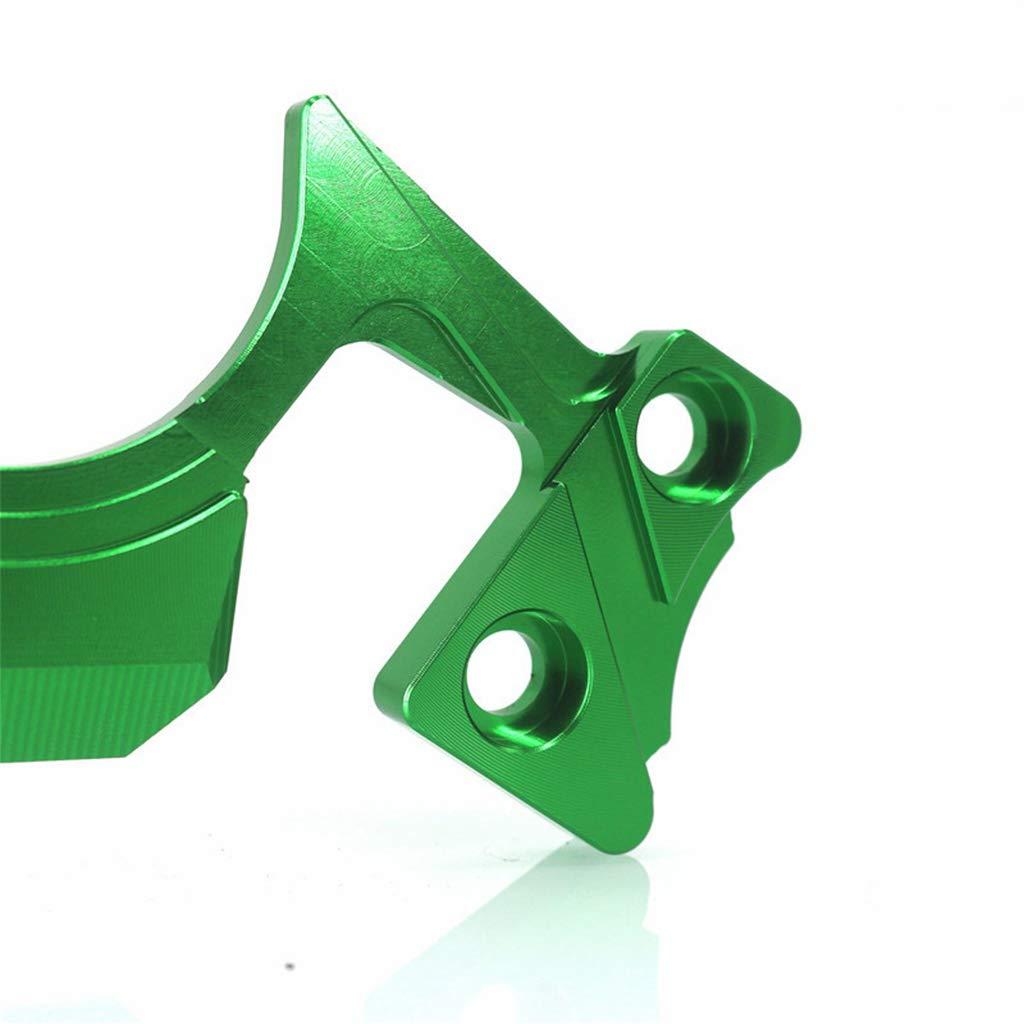 Motrcycle TRede Guard Triple Top Front End Clamp Yoke For Kawasaki Ninja 300 Green
