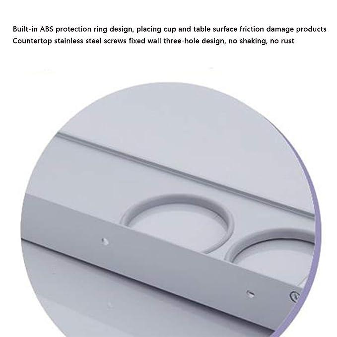 Sunshine home&3 Space - Estante de Aluminio para secador de Pelo de baño, multifunción, para baño, Montaje en Pared, para Cuarto de baño o Ducha: Amazon.es: ...