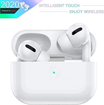 Auriculares Bluetooth Auriculares 3D estéreo HD Llamadas binaurales IPX6 a Prueba de Agua con Estuche de Carga portátil para iPhone/Android/Apple AirPods Pro: Amazon.es: Electrónica