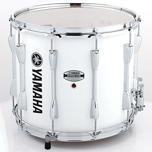 (Yamaha Power-Lite Marching Snare Drum White Wrap 14 in.)