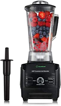 Cleanblend Commercial Blender - 64 Oz Countertop Blender 1800 Watt Base