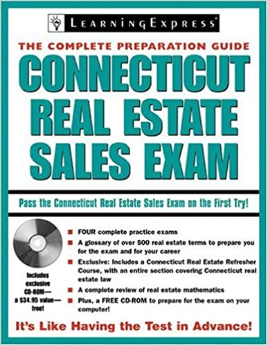Connecticut real estate sales exam connecticut real estate sales connecticut real estate sales exam connecticut real estate sales exam the complete preparation guide learningexpress editors 9781576855799 amazon fandeluxe Image collections