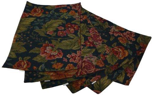 textiles-plus-inc-55-percent-cotton-placemat-summer-rose-set-of-6