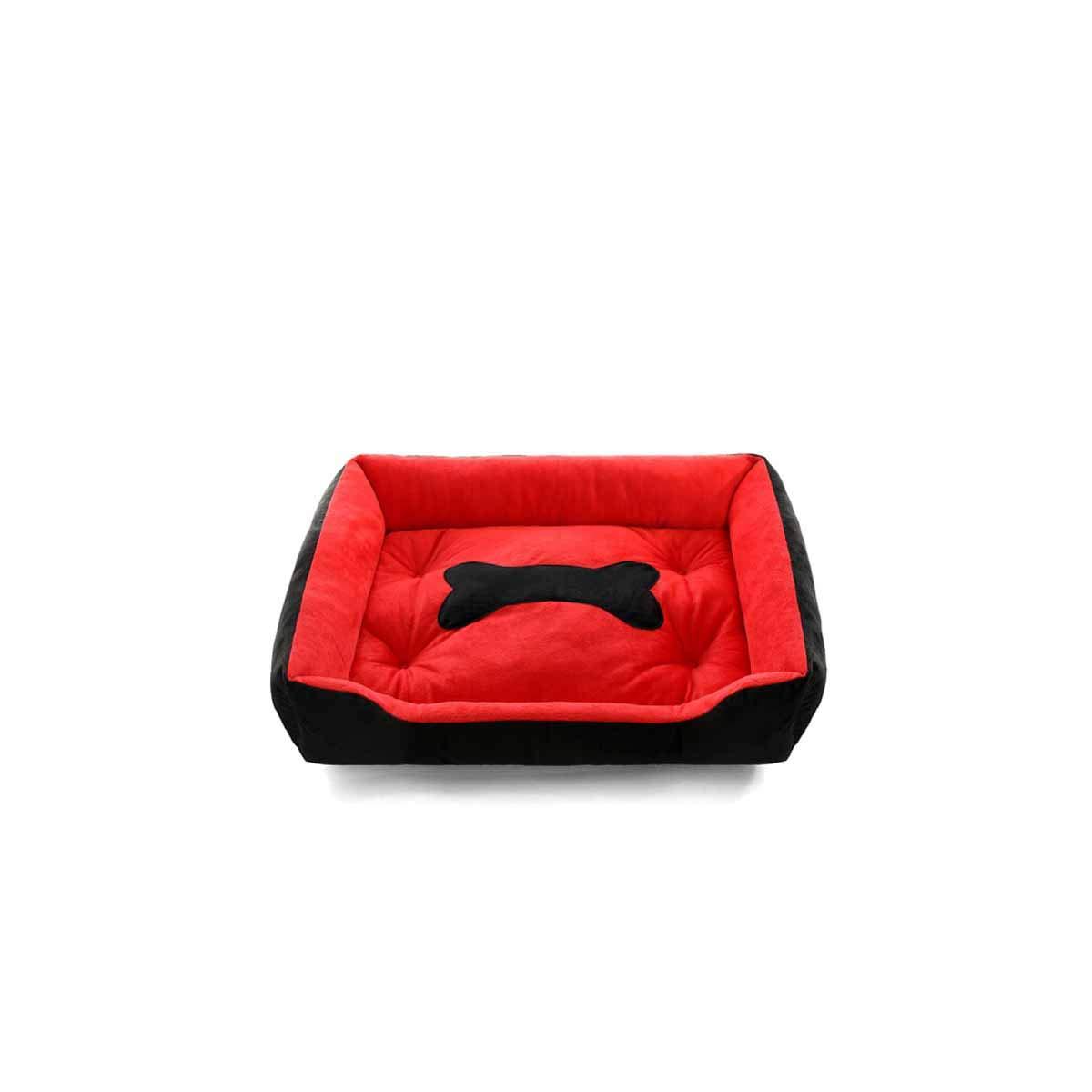 Black XLMuziwenju Kennel, Large, Medium and Small Four Seasons Universal Dog Supplies, Dog Mats, Large Dog Sleeping Mats, Mattresses, Pet Supplies, Soft and Comfortable Warm Cat Beds,