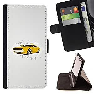 For Motorola Moto X 3rd / Moto X Style Cool Muscle Car Style PU Leather Case Wallet Flip Stand Flap Closure Cover