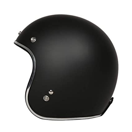 Amazon.es: Casco de Moto para Hombre 3/4 Open Face Jet Moto Casco ...