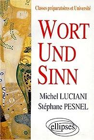Wort und Sinn par Michel Luciani