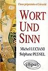 Wort und Sinn par Luciani
