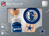 NFL Dallas Cowboys Baby Rattle Set - 2 Pack