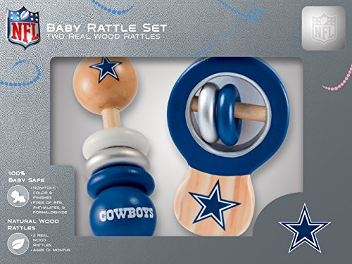 Dallas Cowboys Masterpiece Baby Rattle product image