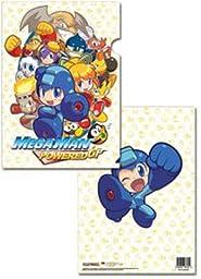 Megaman Powered Up Group File Folder (5 Pcs Pack)