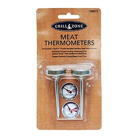 Blue Rhino Global Sourcing 00377TV GZ Meat Thermometer Set