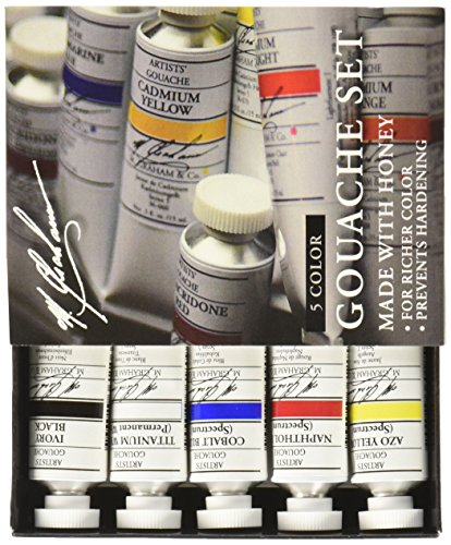 M Graham 2 Ounce Gouache Primary