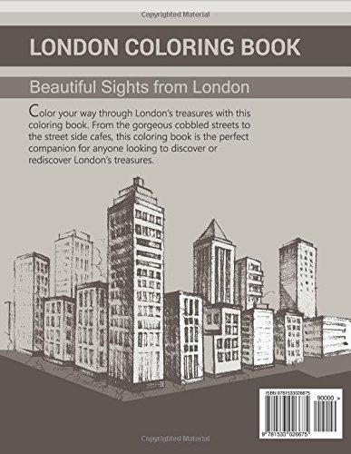 London Coloring Book Beautiful Sights From Carlos Silva 9781533026675 Amazon Books