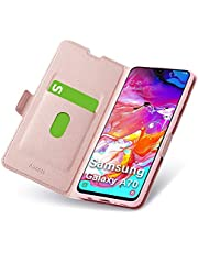 Aunote Wallet Case for Samsung Galaxy S10/S10E/S10 Plus/A10/A20/A30/A20E/A40/A50/A60/A70/M30/M20/Note 10/Note 10 Plus, PU Leather Case, PU + TPU Full Protection for Samsung Smartphone.