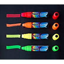 Dry Erase Extra Large Tip Marker Fluorescent 15mm Colors (red, orange, yellow, green,)