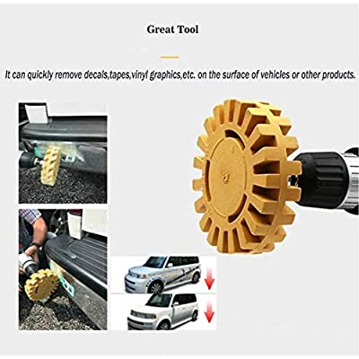 Rubber Eraser Wheel Car Decal Sticker Adhesive Remover 4