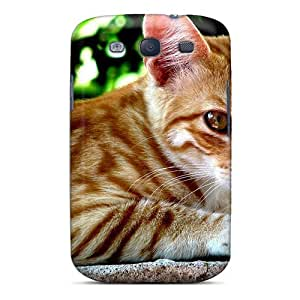 High Impact Dirt/shock Proof Case Cover For Galaxy S3 (street Cat)