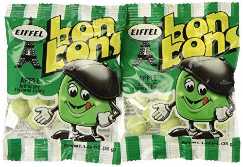 Eiffel Bon Bons 1.25 Ounce 12 Count (Apple) - Bon Bons Apple