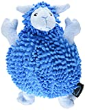 TrustyPup Tough 'n Fun Fuzzy Wuzzy Sheep Durable Dog Toy, Large, Blue