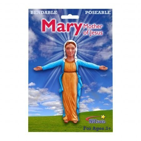 NJ Croce Company REL 4502 Mary Mother of Jesus Bendable by NJ Croce