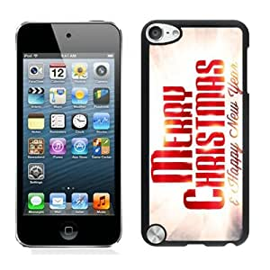 Customized Design Merry Christmas Black iPod Touch 5 Case 81