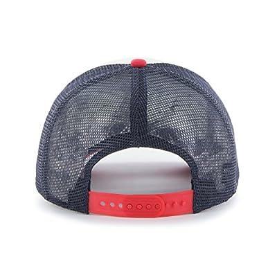 MLB Los Angeles Angels Women's Glimmer Captain Adjustable Snapback Hat, Navy