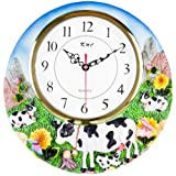 COW 3-Dimensional Wall Clock BRAND NEW!