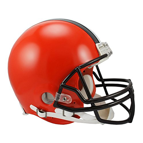 Cleveland Browns Officially Licensed NFL Proline VSR4 Authentic Football Helmet by Riddell