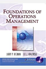 Foundations of Operations Management (Book & CD-ROM) Paperback