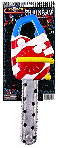 (Faerynicethings Plastic Clown Chain Saw Prop - Costume)