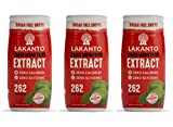 Lakanto Liquid Monkfruit Sweetener | Zero Calories | Original Flavor Pack Of 3