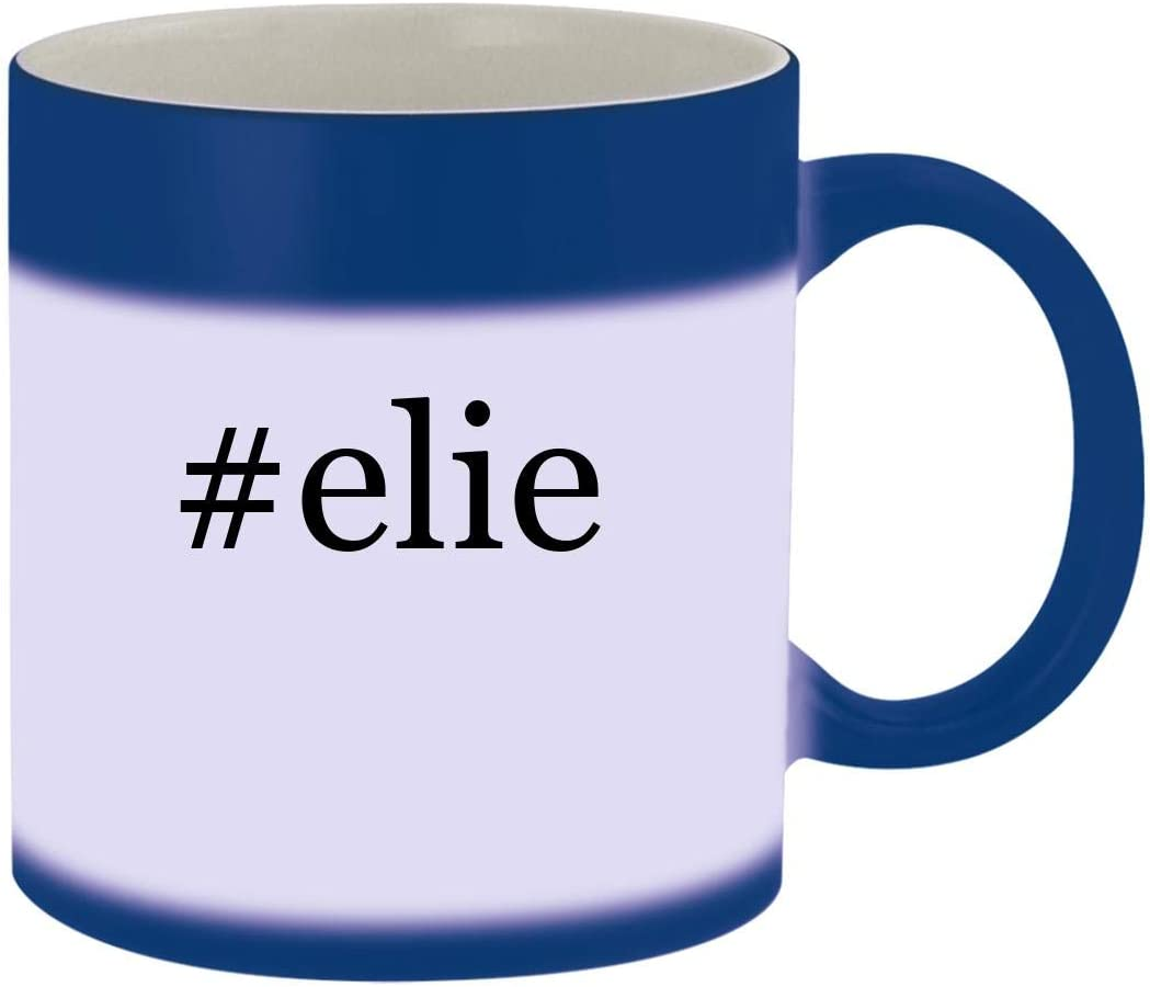 #elie - Ceramic Hashtag Blue Color Changing Mug, Blue