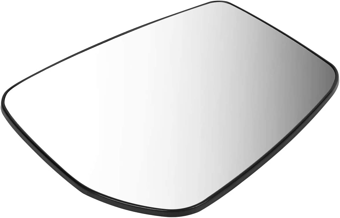 DNA Motoring OEM-MG-0427 963659KK0A OE Style Passenger//Right Mirror Glass For 2015-2018 NISSAN VERSA