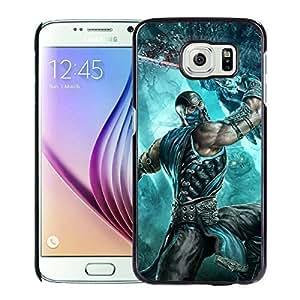 Galaxy S6 Phone Case Sub Zero Fatality Black Samsung Galaxy S6 SM-G920A SM-G920P SM-G920R4 SM-G920T SM-G920V cell phone case