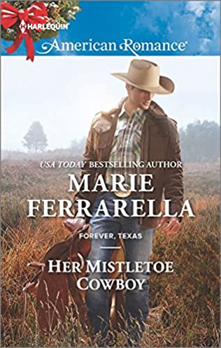 book cover of Her Mistletoe Cowboy