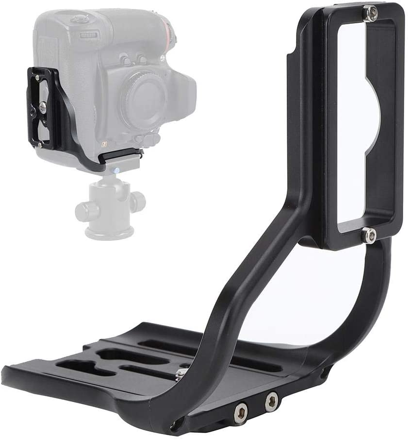 Aluminium Alloy Quick Release L Plate Hand Grip Bracket for D800//D800E//D810 Camera with Battery Handle Maranon Camera Bracket