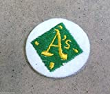 OAKLAND ATHLETICS A's LOGO FELT PATCH - 1960s or EARLY 1970s ORIGINAL VINTAGE