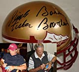 Bobby Bowden and Jimbo Fisher Hand Signed / Autographed Florida State Seminol...