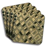 Kuba Cloth Coasters (African A