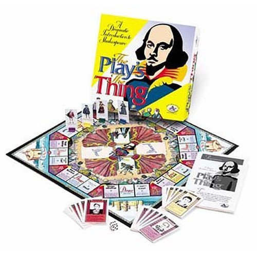 The Play's the Thing Board Game by TaliCor by TaliCor