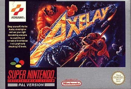 Amazon.com: Axelay - Nintendo Super NES: Video Games