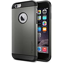 Spigen Slim Armor iPhone 6 Case with Air Cushion Technology and Hybrid Drop Protection for iPhone 6 2014 - Gunmetal