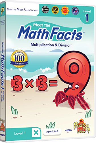 Meet the Math Facts - Multiplication & Division Level 1 DVD