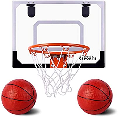 Amazon.com: AOKESI - Mini aro de baloncesto y pelotas para ...