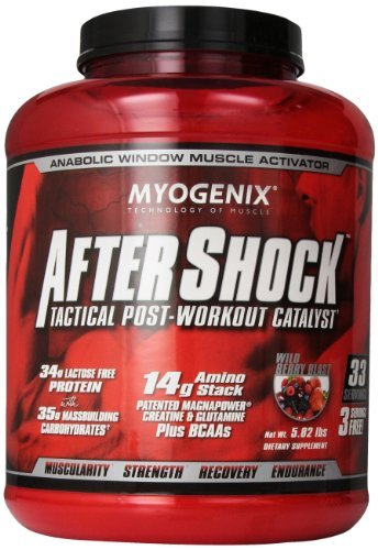 AFTERSHOCK WILDBERRY BLAST, 5.82LB by Myogenix