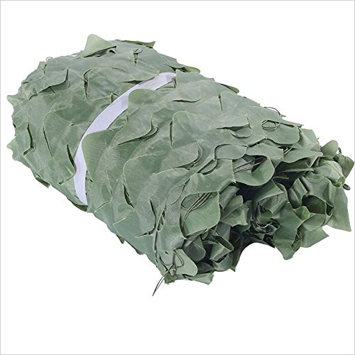 ロケット解く親密なPENGFEI カモフラージュネットシェーディング迷彩柄 オックスフォード布 園芸 日焼け止め パティオ シェード クールダウン シーンレイアウト、 複数のサイズ (色 : Green, サイズ さいず : 5 x 6m)